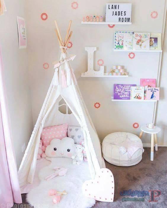 -غرف-نوم-الاطفال-15 تصاميم لديكورات غرف نوم الاطفال مودرن صور غرفة الاطفال كلاسيك