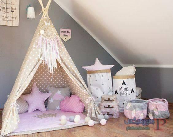 -غرف-نوم-الاطفال-16 تصاميم لديكورات غرف نوم الاطفال مودرن صور غرفة الاطفال كلاسيك
