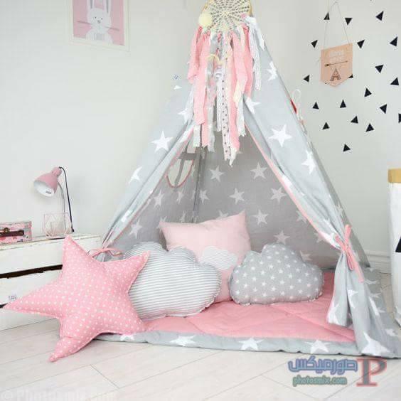 -غرف-نوم-الاطفال-18 تصاميم لديكورات غرف نوم الاطفال مودرن صور غرفة الاطفال كلاسيك