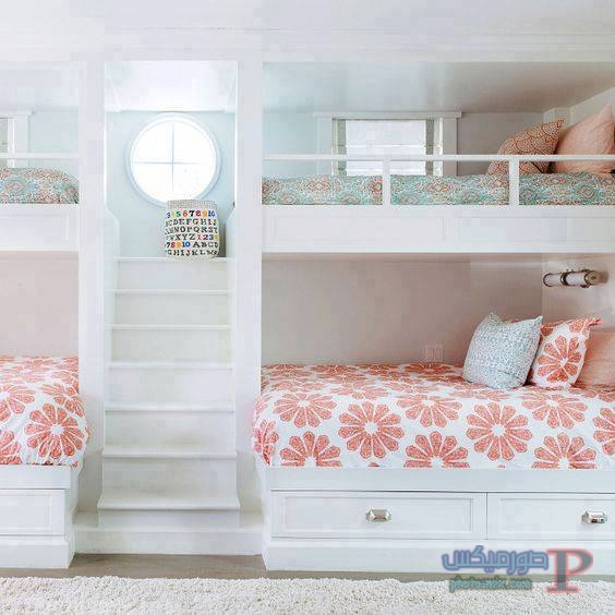 -غرف-نوم-الاطفال-25 تصاميم لديكورات غرف نوم الاطفال مودرن صور غرفة الاطفال كلاسيك