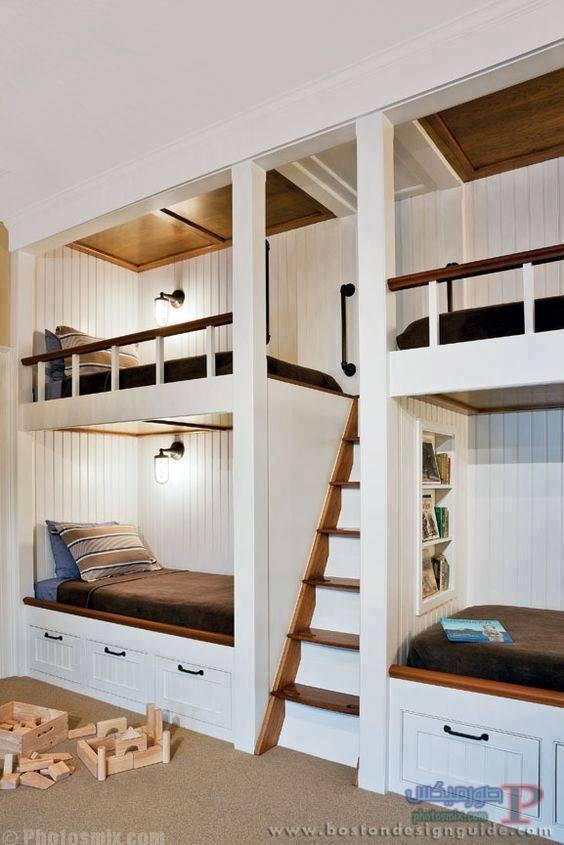 -غرف-نوم-الاطفال-27 تصاميم لديكورات غرف نوم الاطفال مودرن صور غرفة الاطفال كلاسيك