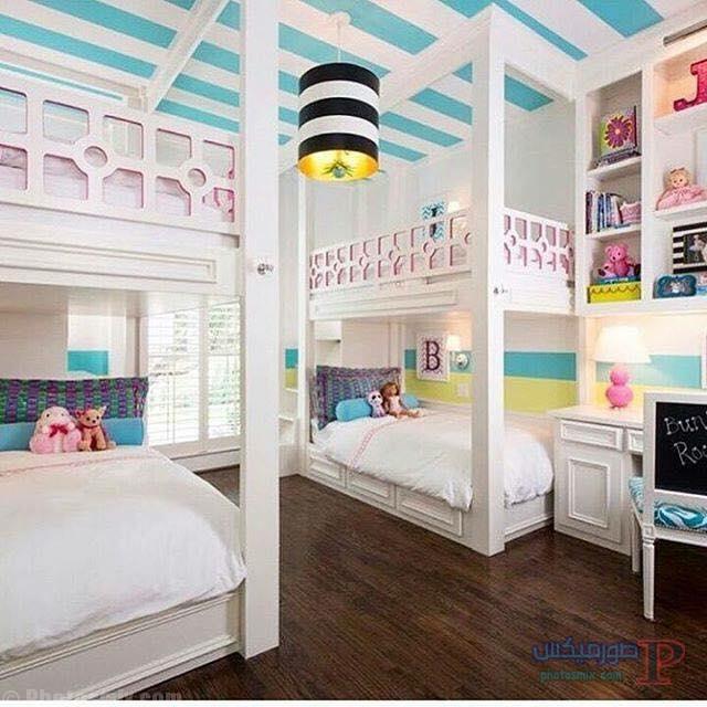 -غرف-نوم-الاطفال-3-1 تصاميم لديكورات غرف نوم الاطفال مودرن صور غرفة الاطفال كلاسيك