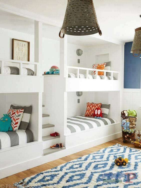 -غرف-نوم-الاطفال-31 تصاميم لديكورات غرف نوم الاطفال مودرن صور غرفة الاطفال كلاسيك