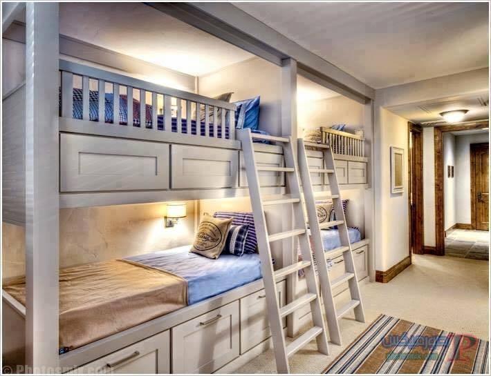 -غرف-نوم-الاطفال-32 تصاميم لديكورات غرف نوم الاطفال مودرن صور غرفة الاطفال كلاسيك