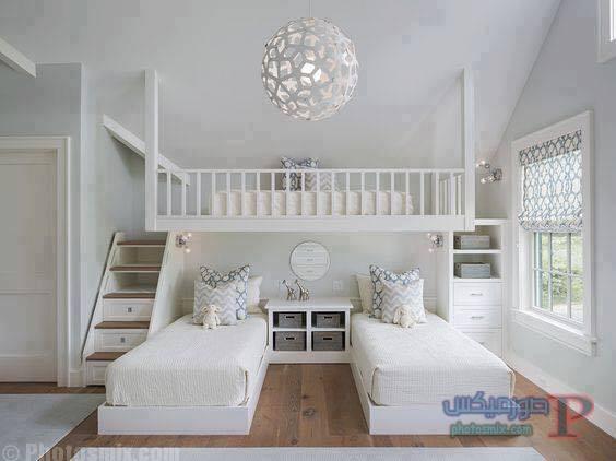 -غرف-نوم-الاطفال-34 تصاميم لديكورات غرف نوم الاطفال مودرن صور غرفة الاطفال كلاسيك