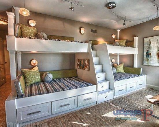 -غرف-نوم-الاطفال-37 تصاميم لديكورات غرف نوم الاطفال مودرن صور غرفة الاطفال كلاسيك