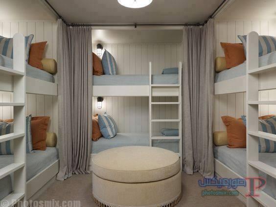 -غرف-نوم-الاطفال-38 تصاميم لديكورات غرف نوم الاطفال مودرن صور غرفة الاطفال كلاسيك