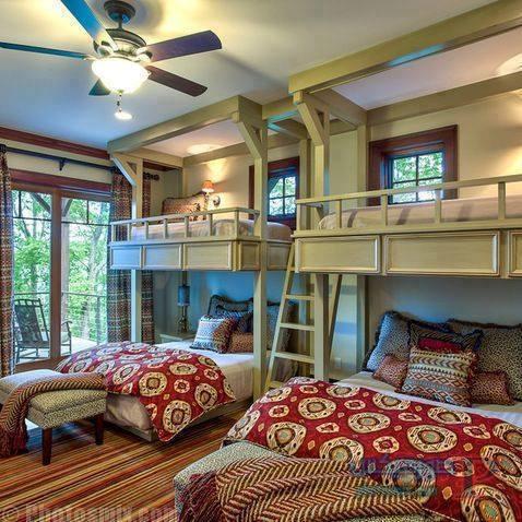 -غرف-نوم-الاطفال-41 تصاميم لديكورات غرف نوم الاطفال مودرن صور غرفة الاطفال كلاسيك
