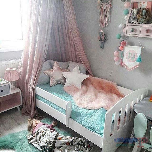 -غرف-نوم-الاطفال-5-1 تصاميم لديكورات غرف نوم الاطفال مودرن صور غرفة الاطفال كلاسيك