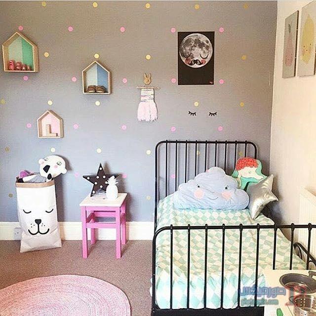 -غرف-نوم-الاطفال-6-1 تصاميم لديكورات غرف نوم الاطفال مودرن صور غرفة الاطفال كلاسيك