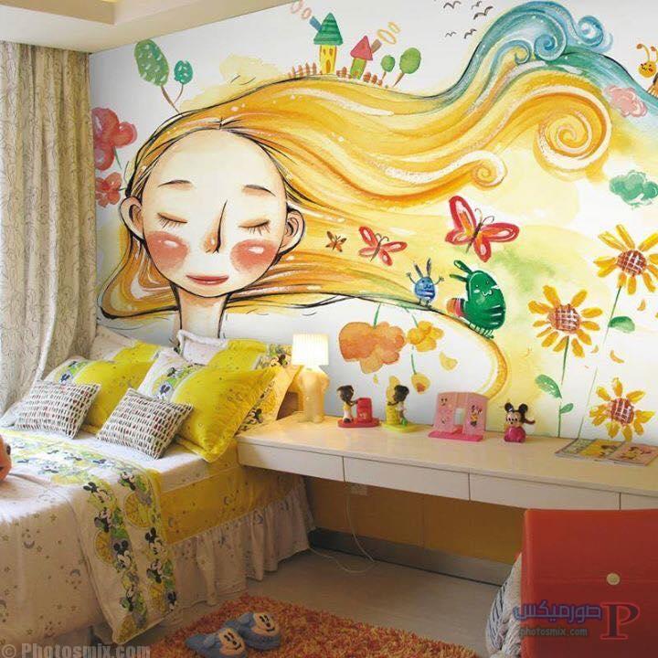 -غرف-نوم-الاطفال-9-1 تصاميم لديكورات غرف نوم الاطفال مودرن صور غرفة الاطفال كلاسيك
