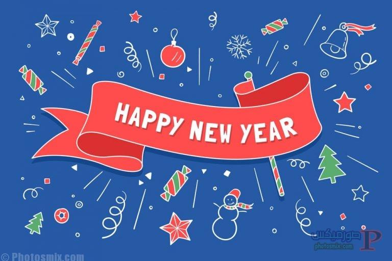تهنئة العام الجديد 2018 اجمل صور راس السنة الميلادية صور Happy New Year 10