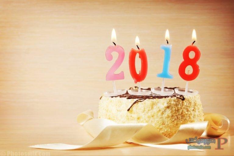 تهنئة العام الجديد 2018 اجمل صور راس السنة الميلادية صور Happy New Year 8