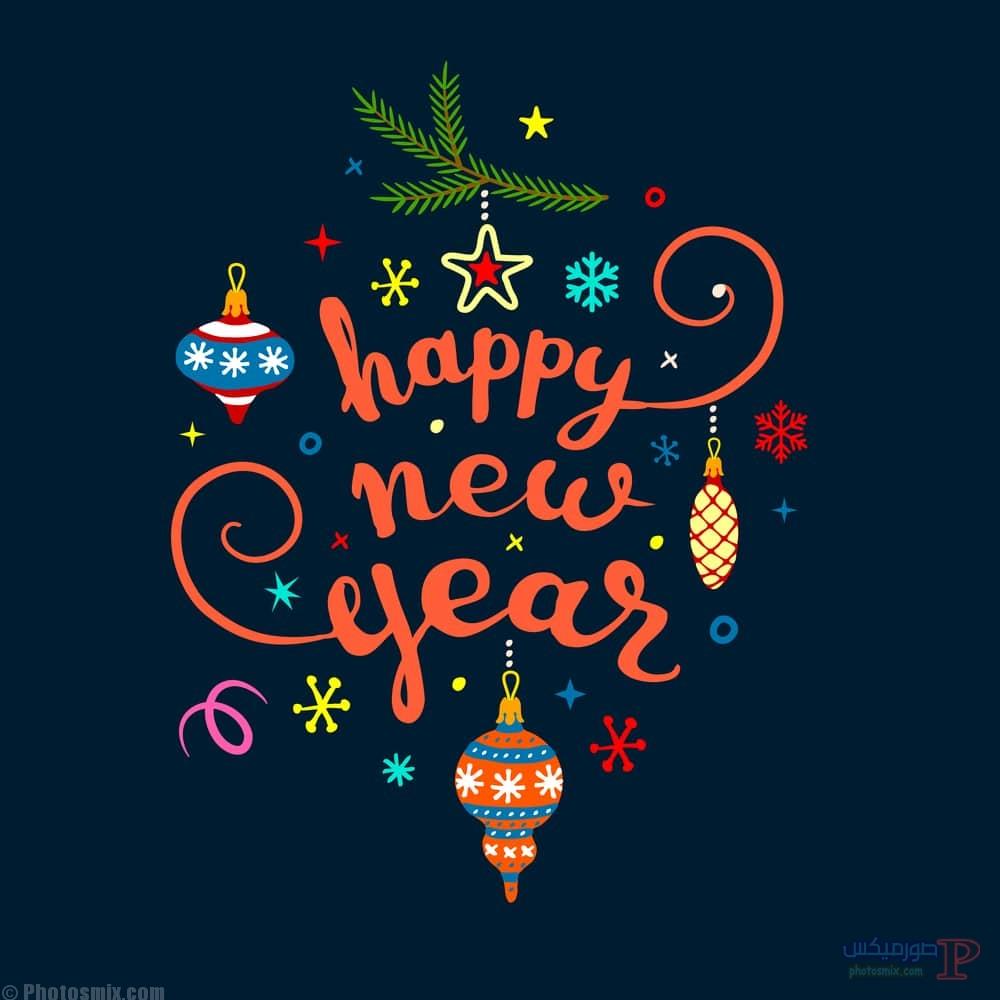 تهنئة العام الجديد 2018 اجمل صور راس السنة الميلادية صور Happy New Year 9
