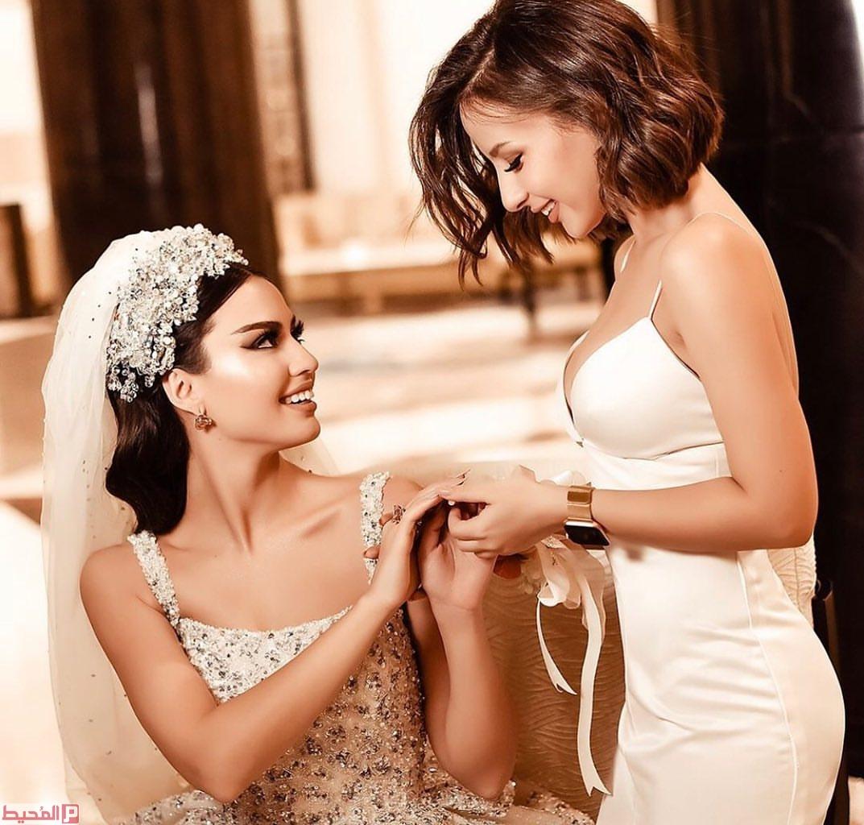 صور مكتوب عليها اخت العروسه 2020 3