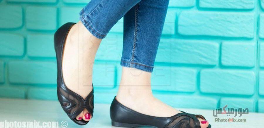 حريمي 111 e1556145144162 - صور أحذية حريمي صيف 2019, صور أحذية بنات جديدة, صور أحذية حريمي فلات