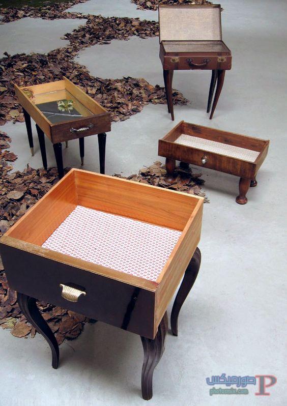 -والادراج-القديمه-بشكل-مختلف-2 افكار ديكور خشب والصناديق الخشبية