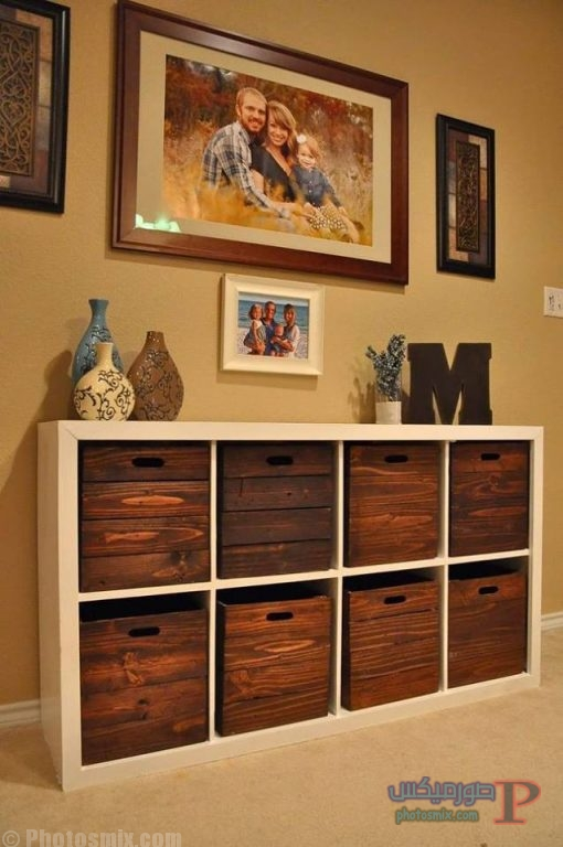 استخدام الصناديق الخشبيه ف ديكور منزلك 2
