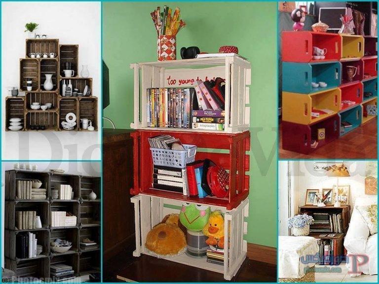 -استخدام-الصناديق-الخشبيه-ف-ديكور-منزلك-3 افكار ديكور خشب والصناديق الخشبية