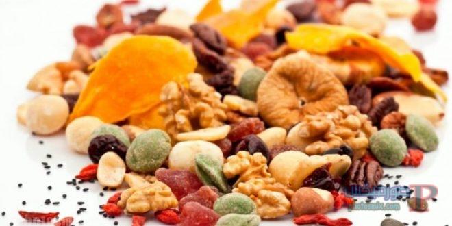 1 فوائد و اضرار الفواكه المجففة