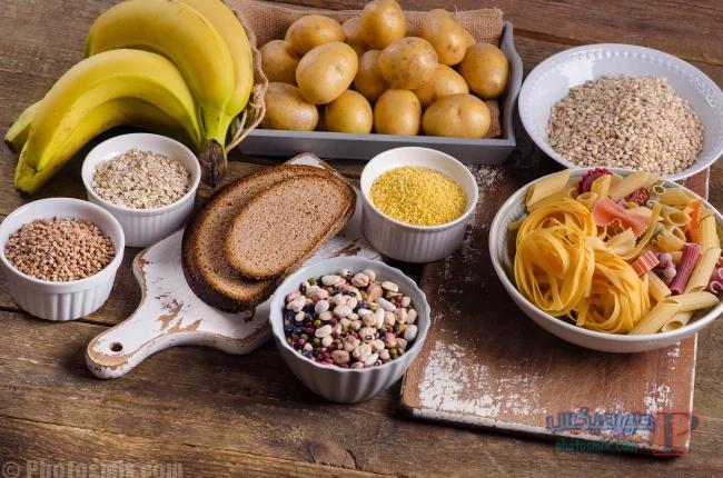 -تنظيم-كميات-الكربوهيدرات-داخل-الجسم- عادات للتخلص من الوزن الزائد مع الرجيم