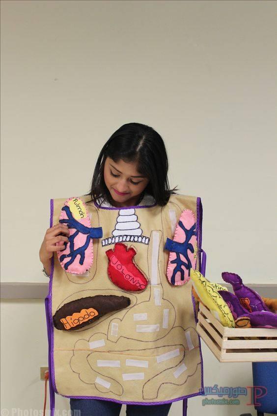 تعليم الاطفال اجزاء الجسم بالكرتون 1