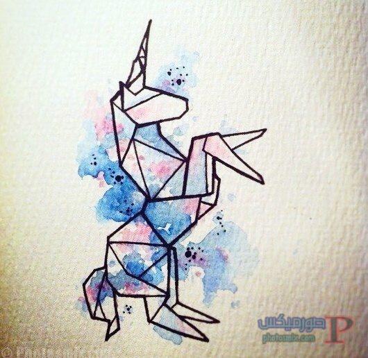 رسومات بالألوان الأكوريل المائية هادئة جدا ورقيقة