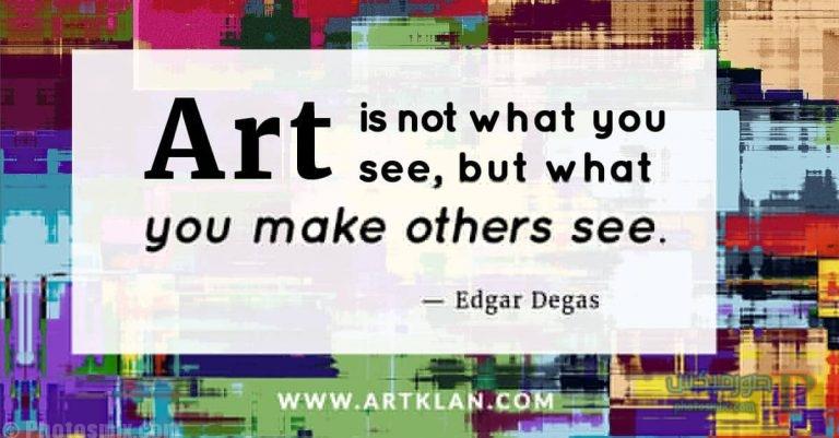 1 خلفيات عن الفن، Art Quotes, بوستات فيسبوك بالانجليزي للرسامين والفنانين
