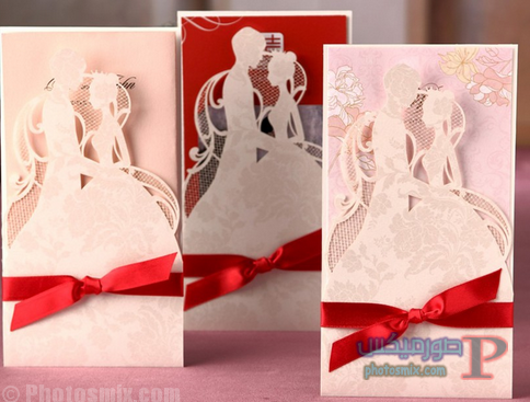 بالصور أفضل 25 دعوة زواج 2018، بطاقات زواج للعروسين، صور كروت أفراح 2018، أفكار تصاميم دعوة الزواج