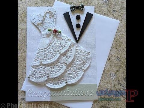2228 بالصور أفضل 25 دعوة زواج 2018  بطاقات زواج للعروسين صور كروت أفراح 2018 أفكار تصاميم دعوة الزواج
