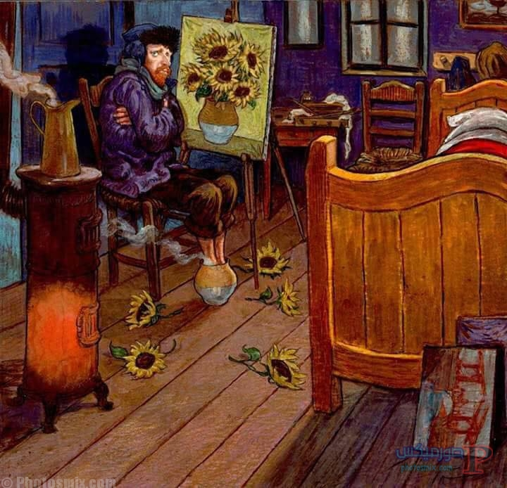 أشهر لوحات فان جوخ والأغلي في العالم..المعني الحقيقي للإبداع للفنان ذو الأذن المقطوعة