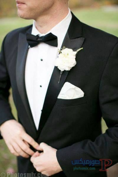 3910784431 صور بدلة رجالي للعريس 2018، أحدث ستايل بدل كلاسيك، بدل سوداء 2018، بدلة العريس