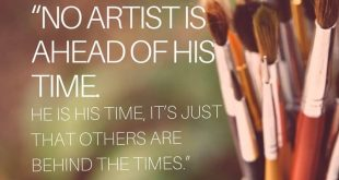 Art Quotes from Famous Artists21 min