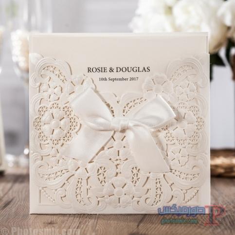 Cheap-Wedding-Invitation-Card-with-Laser-Cut-Embossed-Floral-and-Bow-CW6112.jpg_640x640 بالصور أفضل 25 دعوة زواج 2018  بطاقات زواج للعروسين صور كروت أفراح 2018 أفكار تصاميم دعوة الزواج