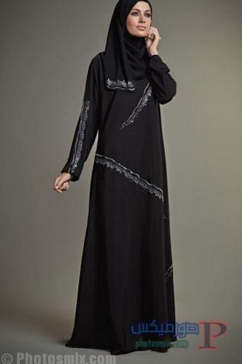 Fashion-Hanayen-Abaya-Fashion-black صور عبايات رمضان 2018 عبايات ستبهرك انوثتها
