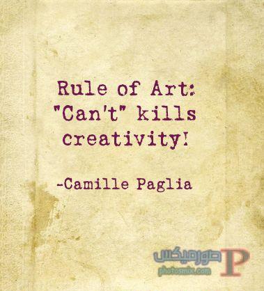 camillepaglia_quote خلفيات عن الفن، Art Quotes, بوستات فيسبوك بالانجليزي للرسامين والفنانين