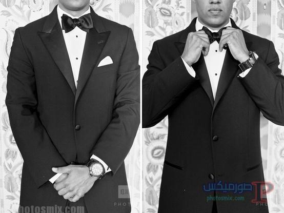 grooms صور بدلة رجالي للعريس 2018، أحدث ستايل بدل كلاسيك، بدل سوداء 2018، بدلة العريس