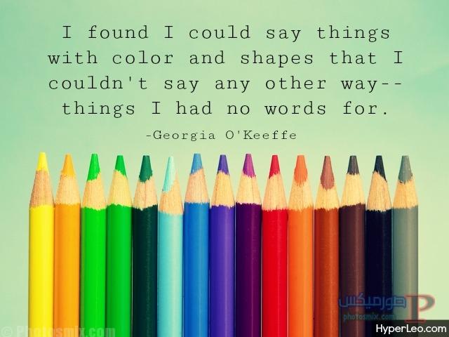 inspiring-art-quotes خلفيات عن الفن، Art Quotes, بوستات فيسبوك بالانجليزي للرسامين والفنانين