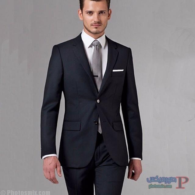 jpg_640x640-1 صور بدلة رجالي للعريس 2018، أحدث ستايل بدل كلاسيك، بدل سوداء 2018، بدلة العريس