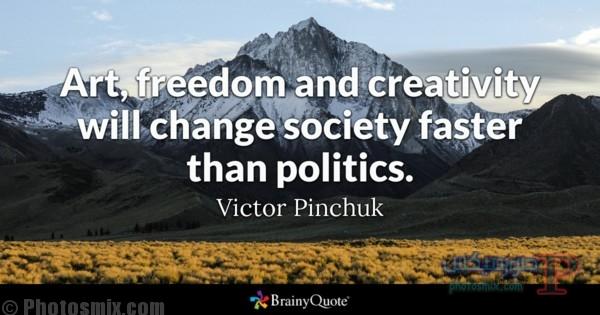 victorpinchuk1 خلفيات عن الفن، Art Quotes, بوستات فيسبوك بالانجليزي للرسامين والفنانين
