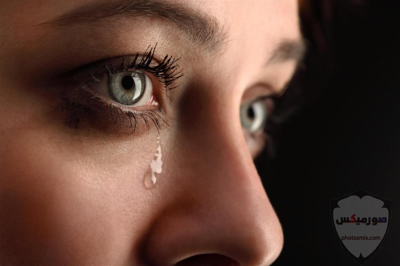 اجمل صور حزن ودموع مكتوب عليها اشعار 9