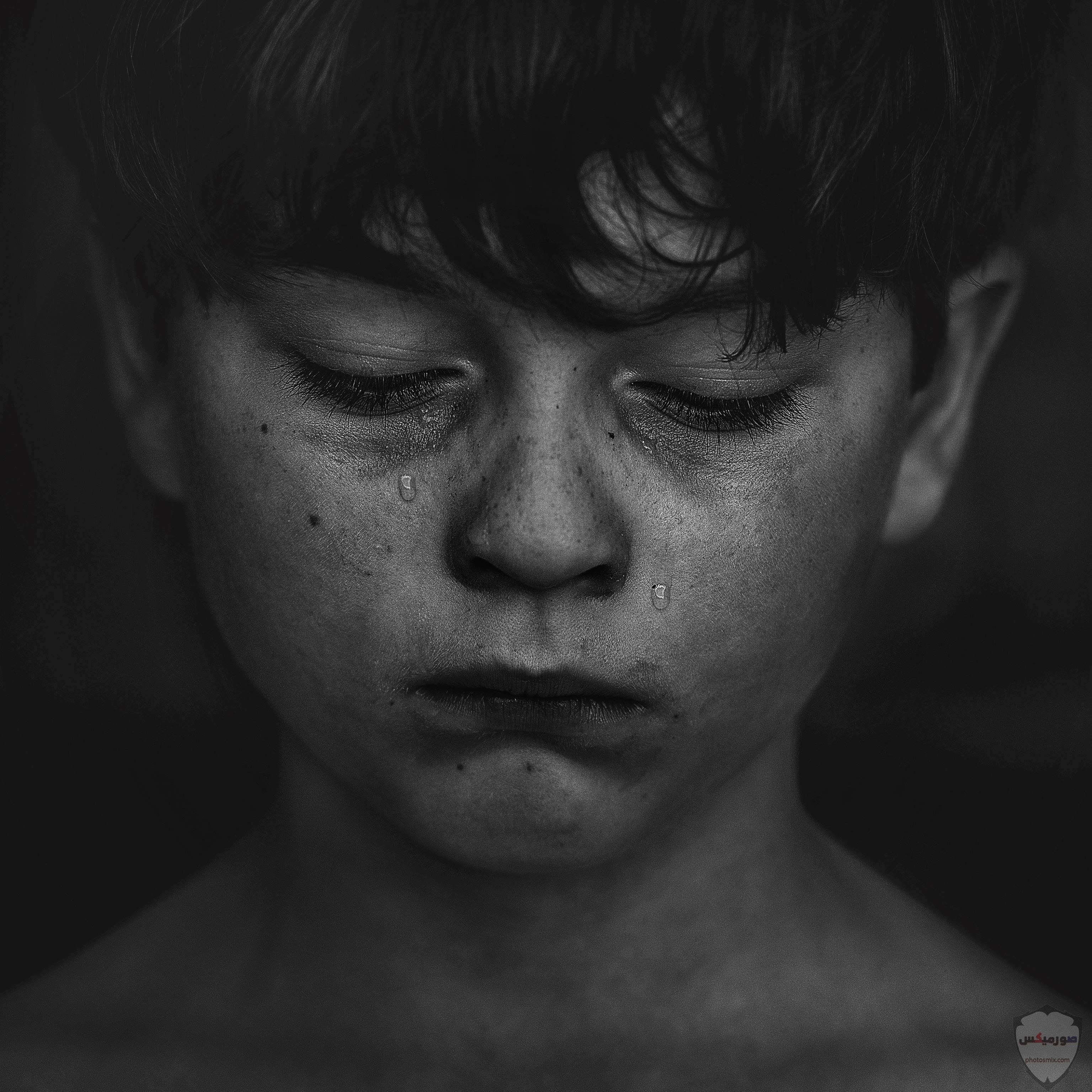 صور حزن جديدة 2020، صور دموع ، عبارات حزينة ، صور زعل مكتوب عليها كلام حزين 10