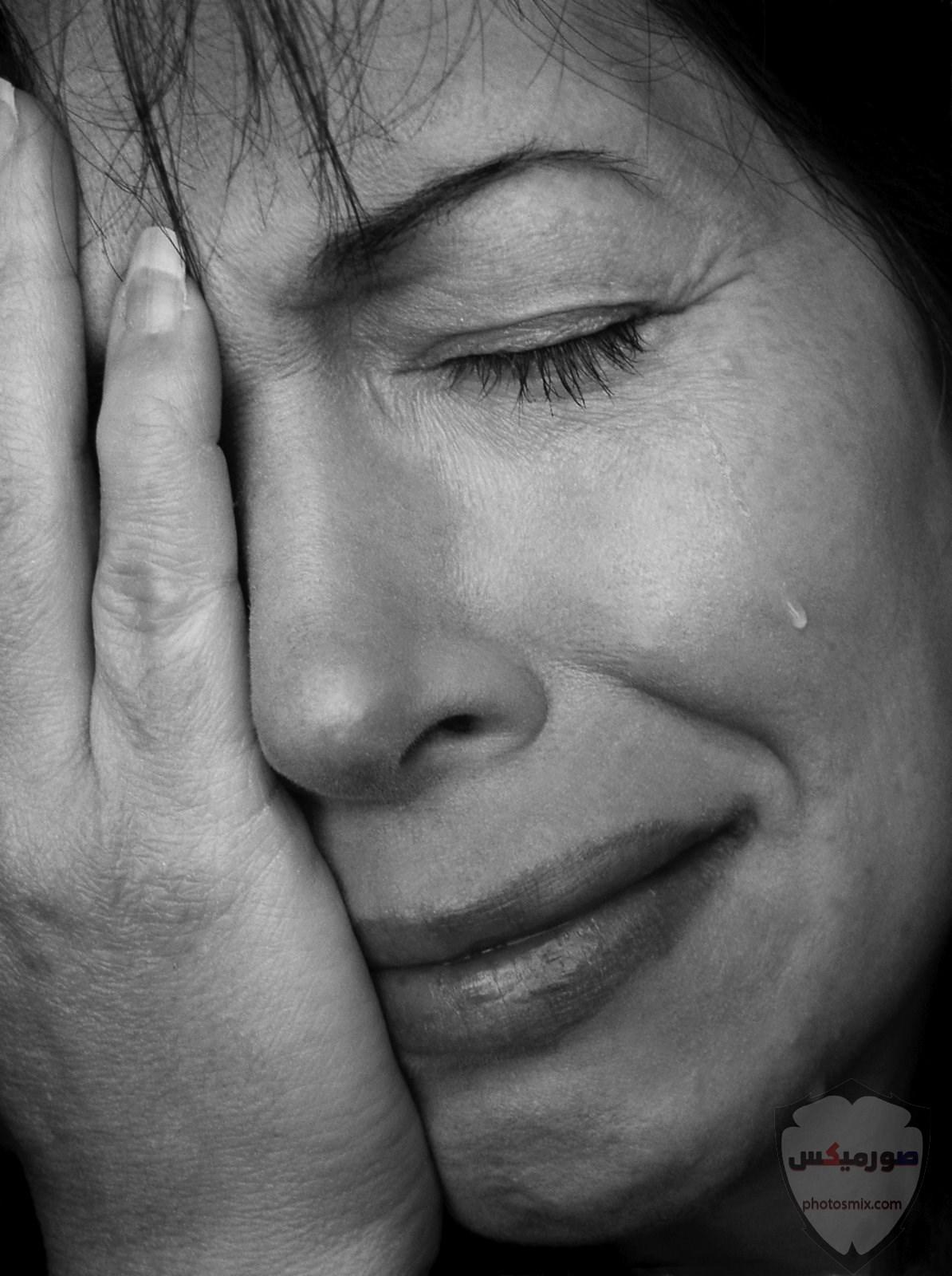 صور حزن جديدة 2020، صور دموع ، عبارات حزينة ، صور زعل مكتوب عليها كلام حزين 17
