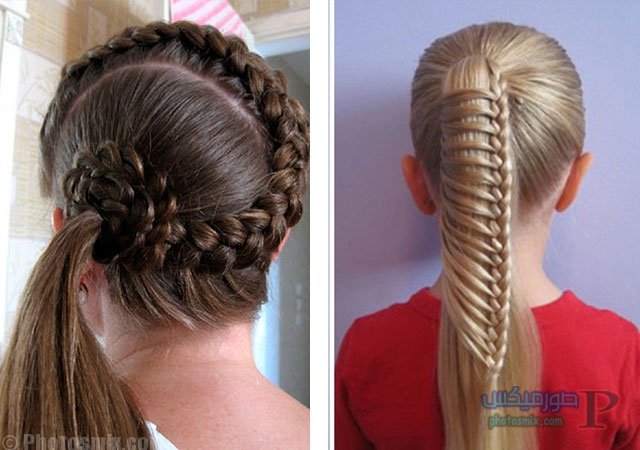 اجمل صور لقصات الشعر الطويل للاطفال 2