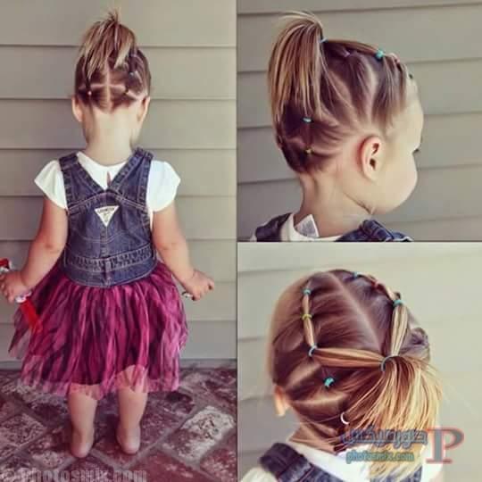 صور تسريحات شعر للاطفال 4