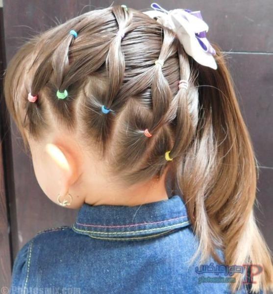 صور تسريحات شعر للاطفال 9