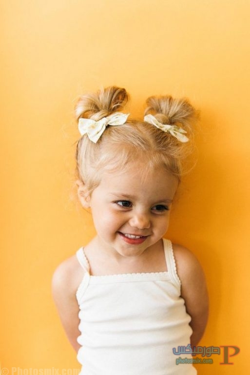 صور جميله لتسريحات الكحكه للاطفال 4
