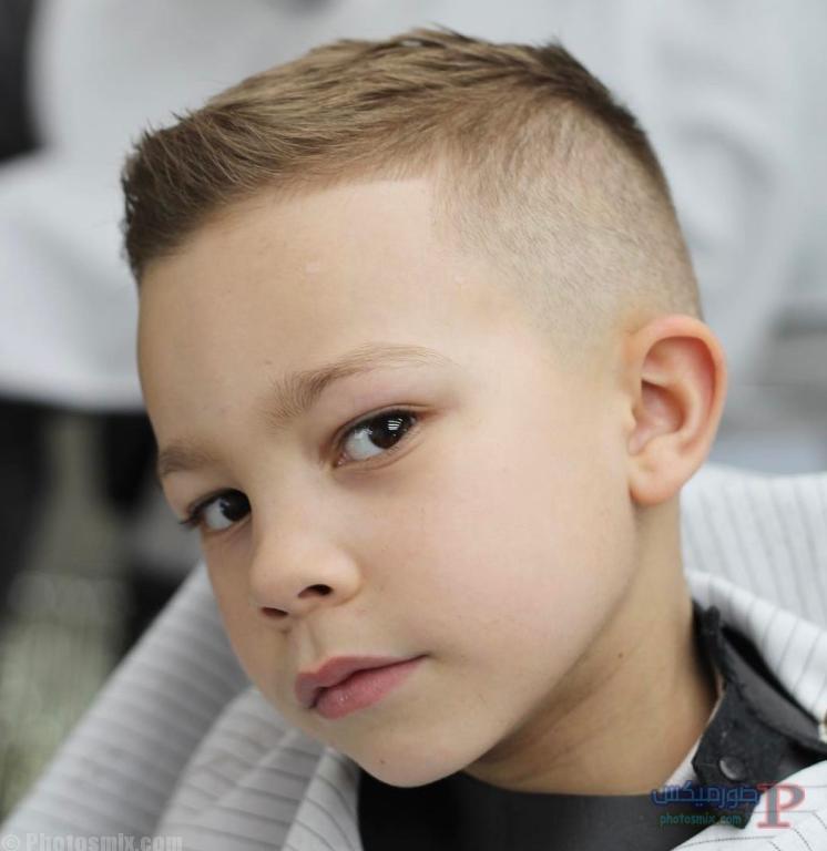 صور قصات وتسريحات للاولاد اطفال 10