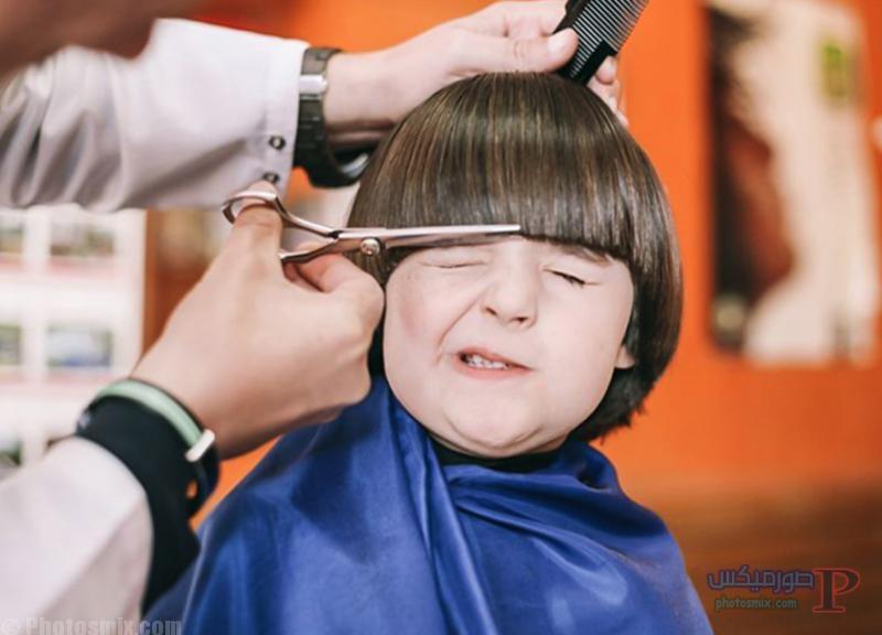 صور قصات وتسريحات للاولاد اطفال 20
