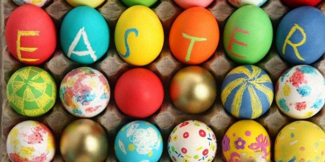 طرق تلوين البيض بألوان طبيعية